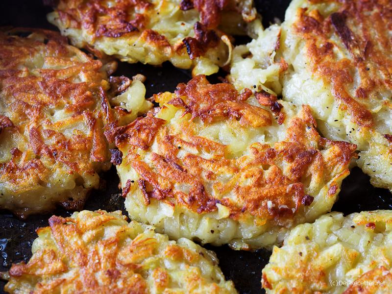galettes de pommes de terre recette sur le gourmand du dimanche. Black Bedroom Furniture Sets. Home Design Ideas