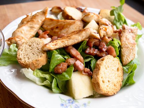 sauce et salade fa on c sar le gourmand du dimanche. Black Bedroom Furniture Sets. Home Design Ideas