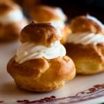 Choux à la crème Chantilly au Mascarpone